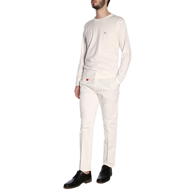 T恤 男士 C.p. Company 白色 4