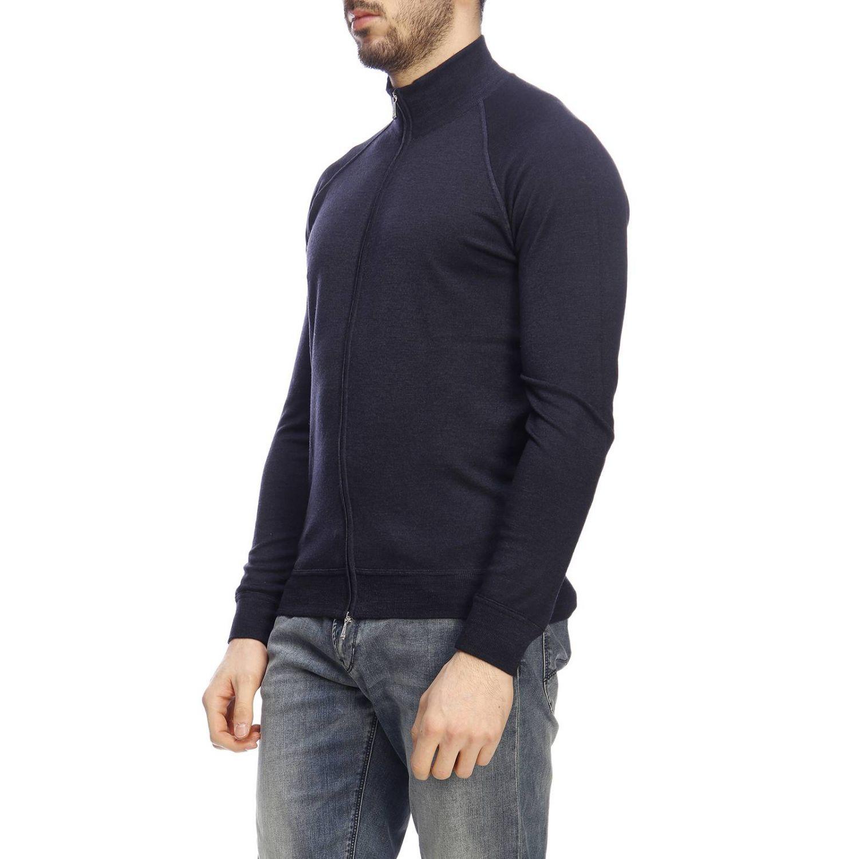 Pullover herren Drumohr blau 2