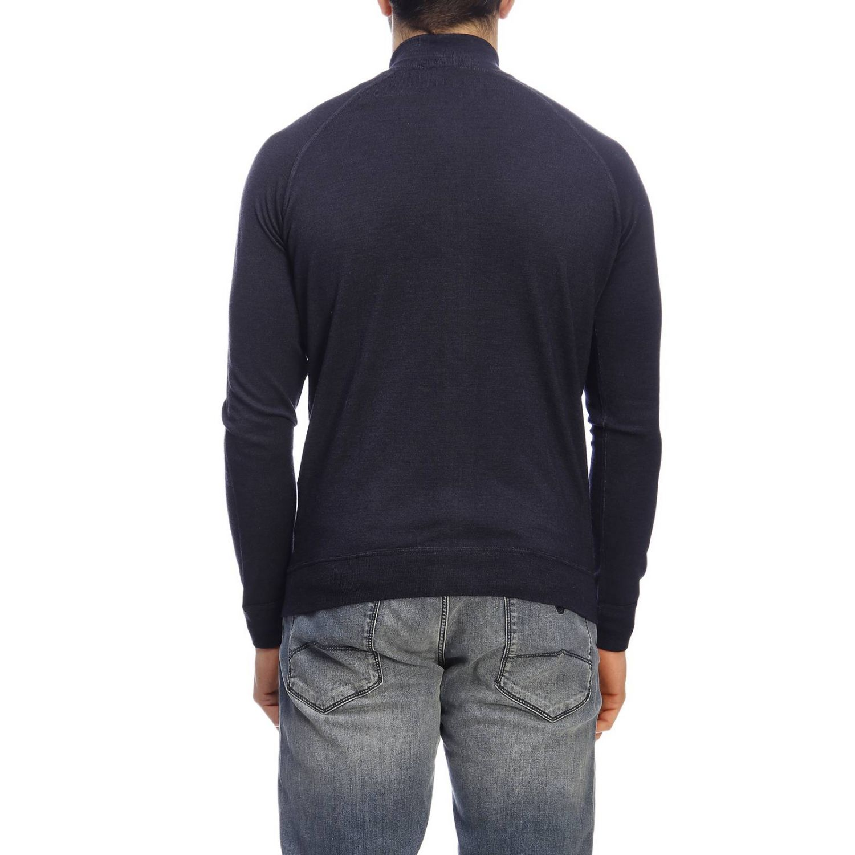 Pullover herren Drumohr blau 3