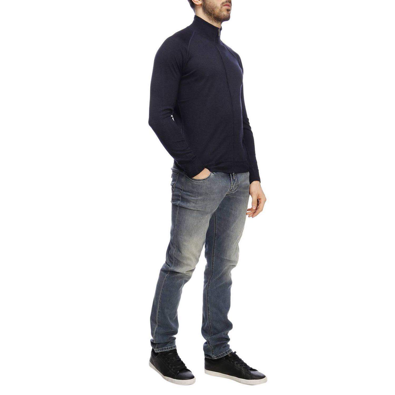 Pullover herren Drumohr blau 4