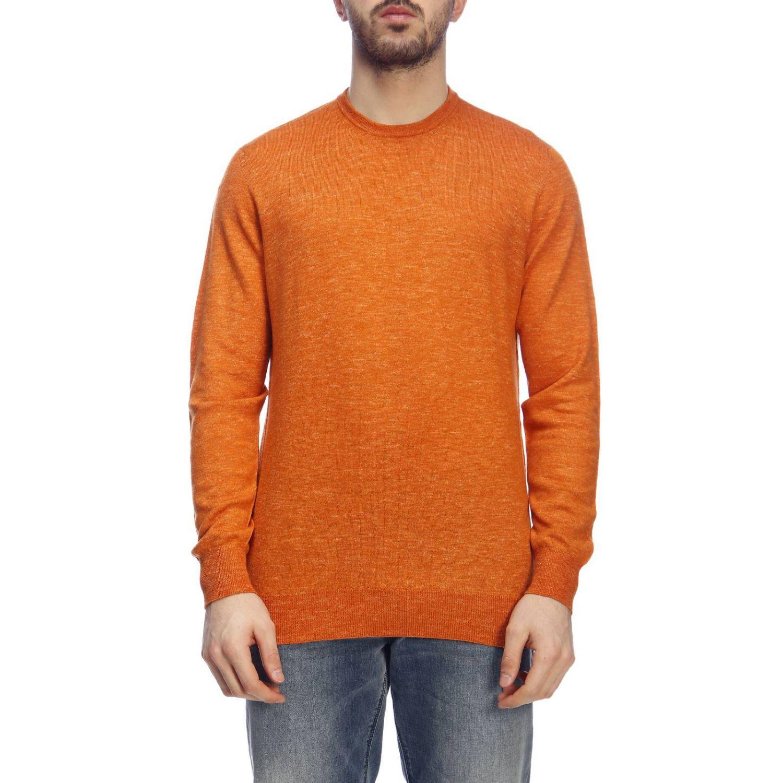 Pullover herren Drumohr orange 1