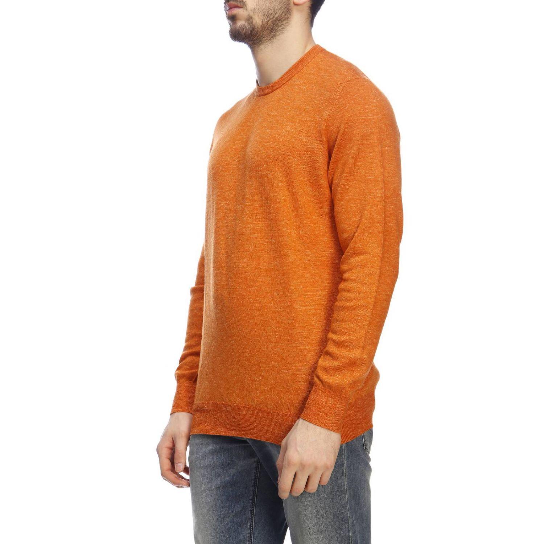 Pullover herren Drumohr orange 2