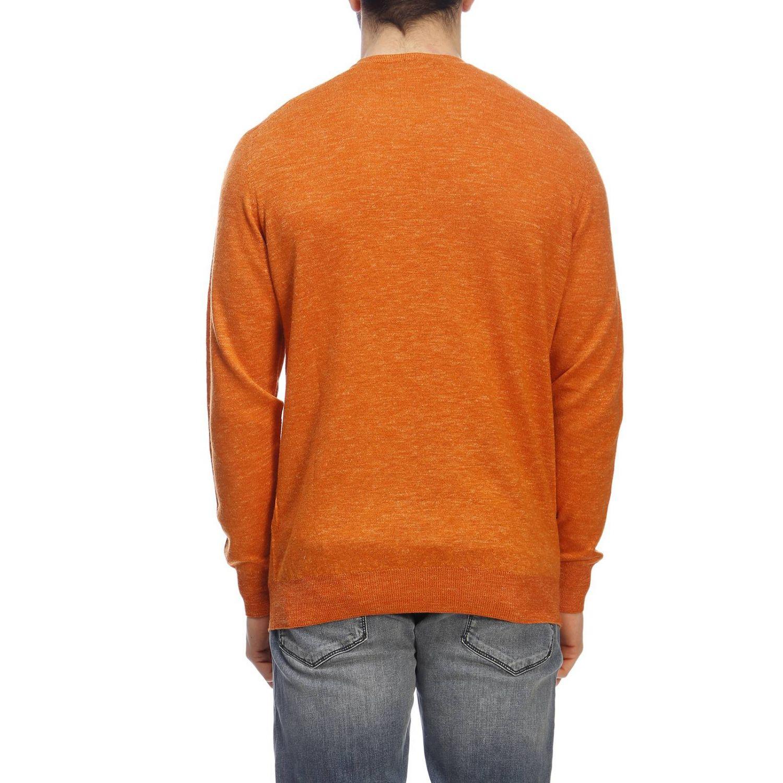 Pullover herren Drumohr orange 3