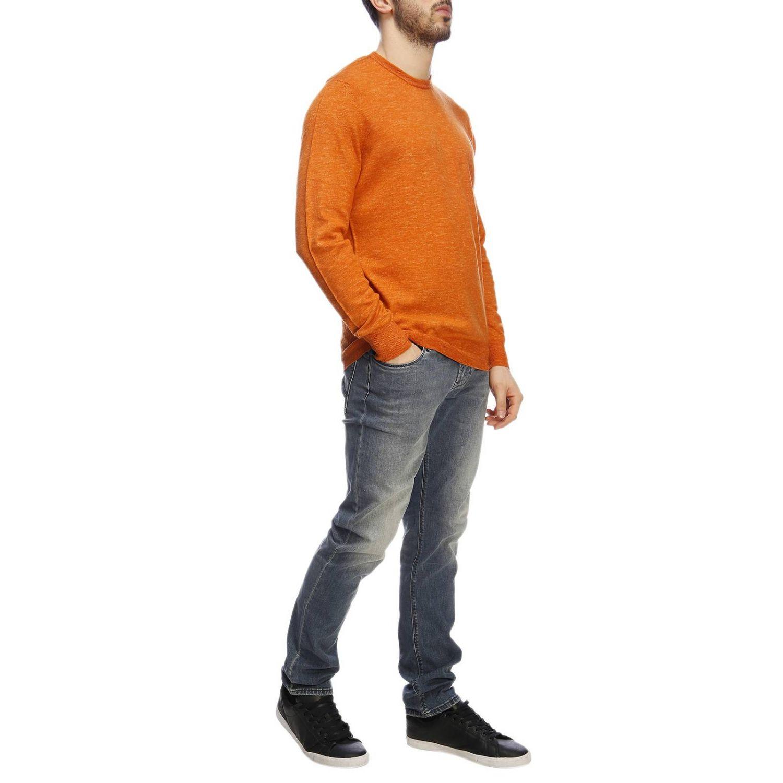 Pullover herren Drumohr orange 4