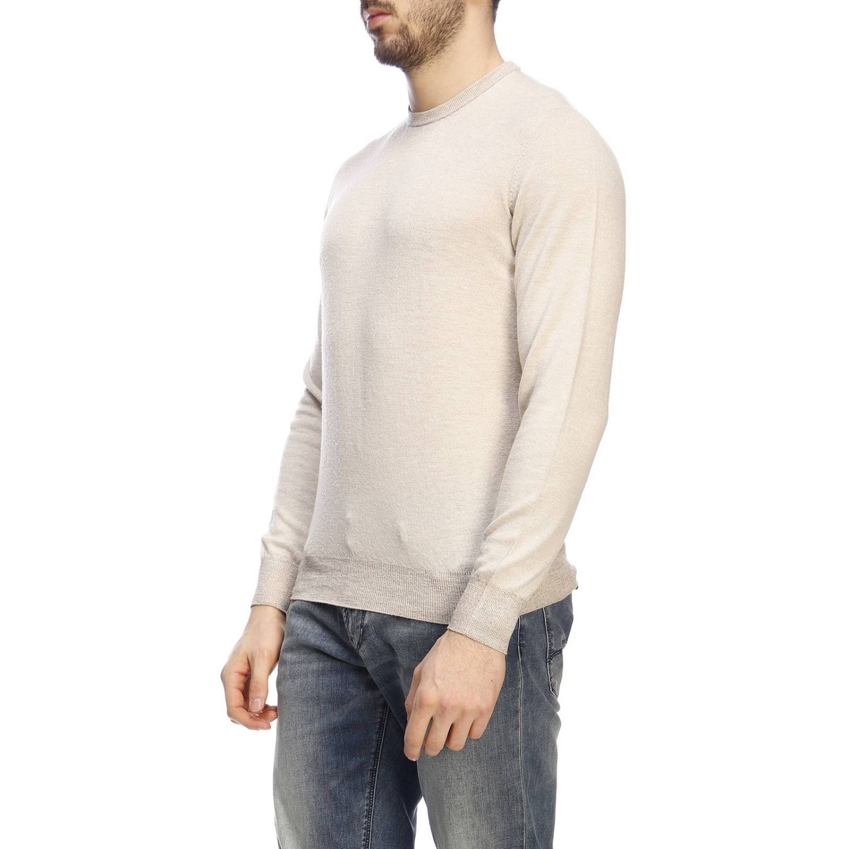 Maglia Drumohr: Maglia Drumohr a girocollo basic a maniche lunghe ecru 2