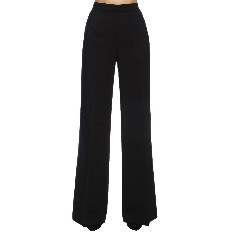 Pantalone Alberta Ferretti: Pantalone Classic ampio Alberta Ferretti nero 1
