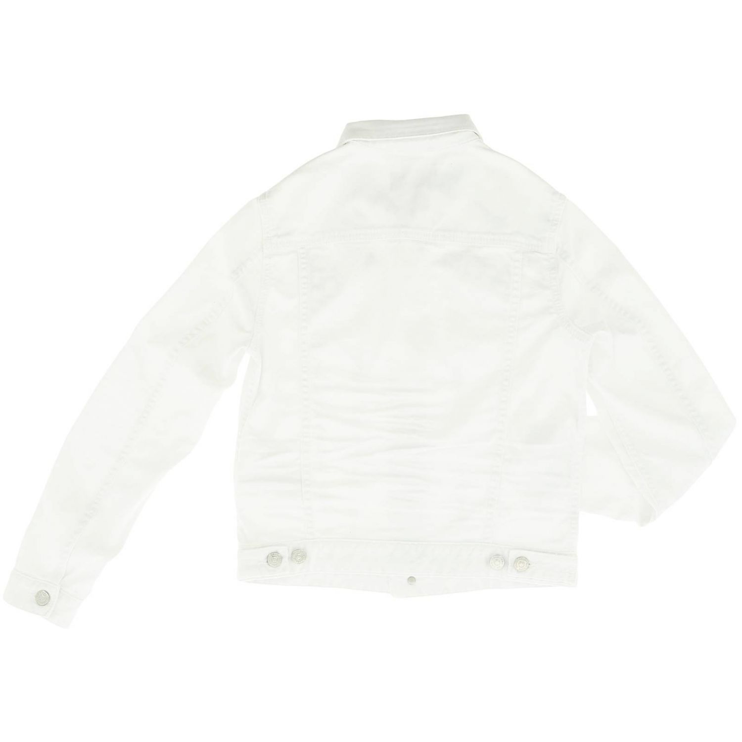 Giacca Dsquared2 Junior: Giacca bambino Dsquared2 Junior bianco 2