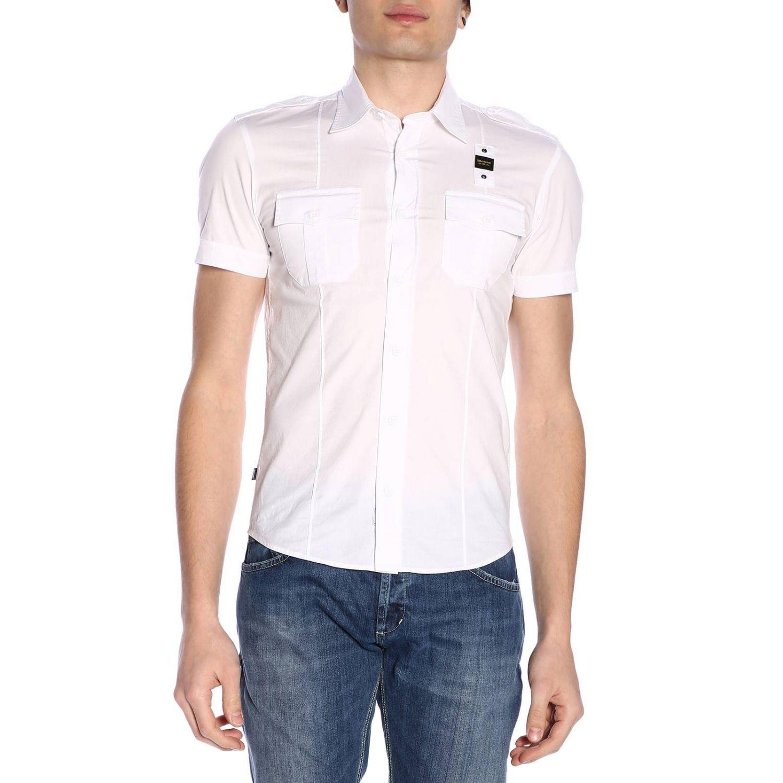 Shirt men Blauer white 1