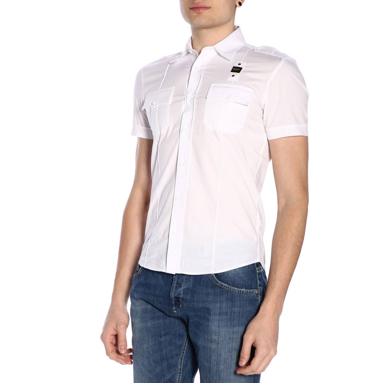 Shirt men Blauer white 2