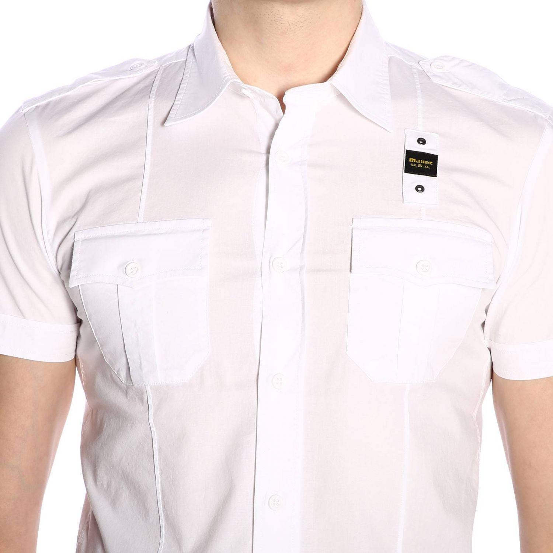Shirt men Blauer white 4