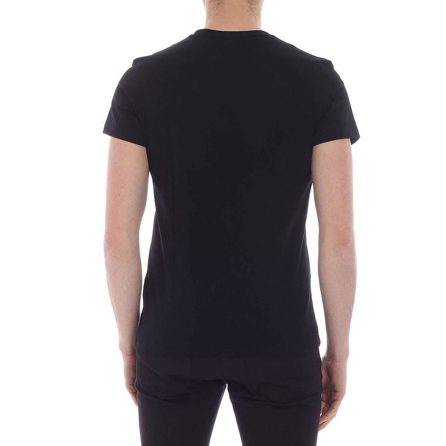 T-shirt men Balmain black 3