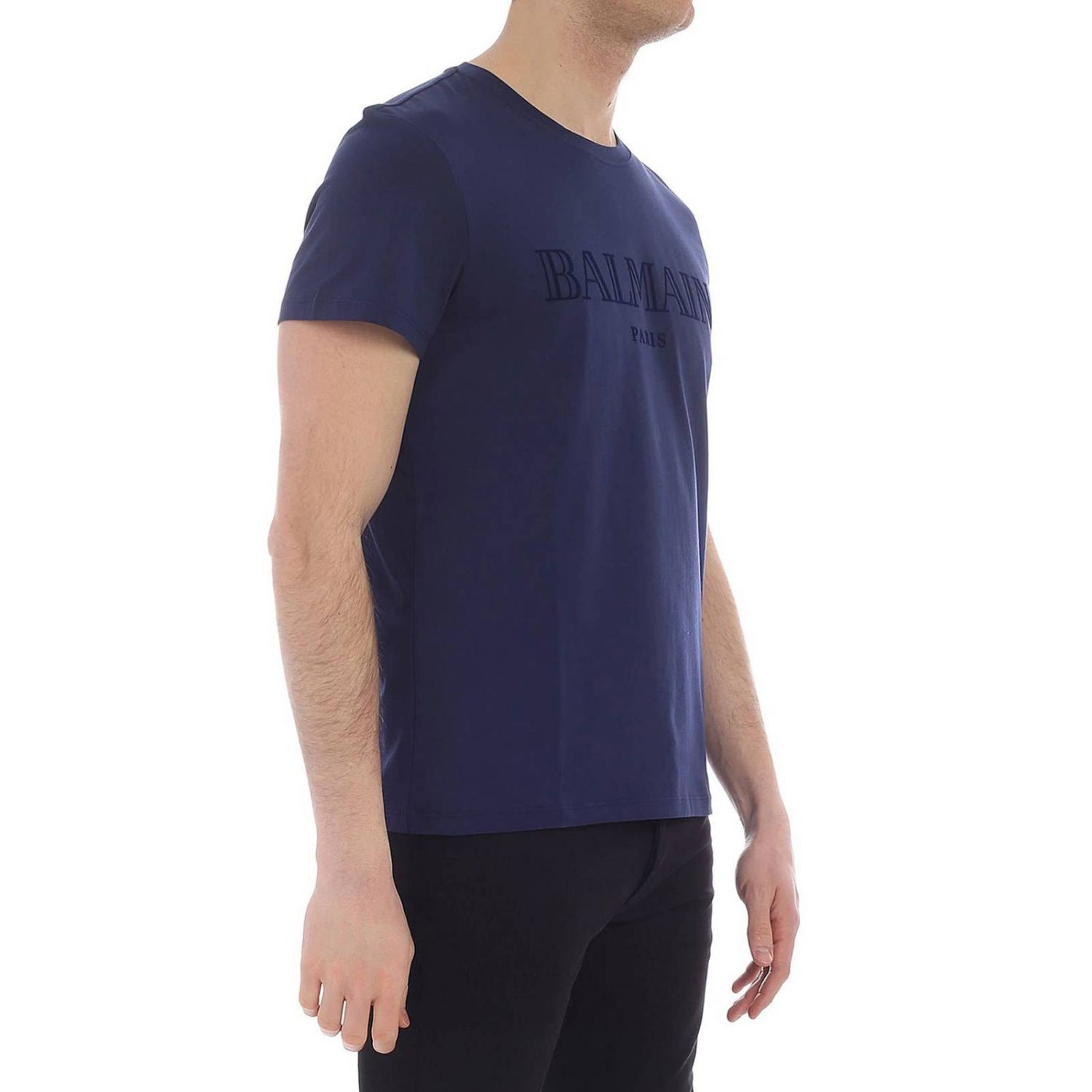 T-shirt Balmain: T-shirt men Balmain blue 2