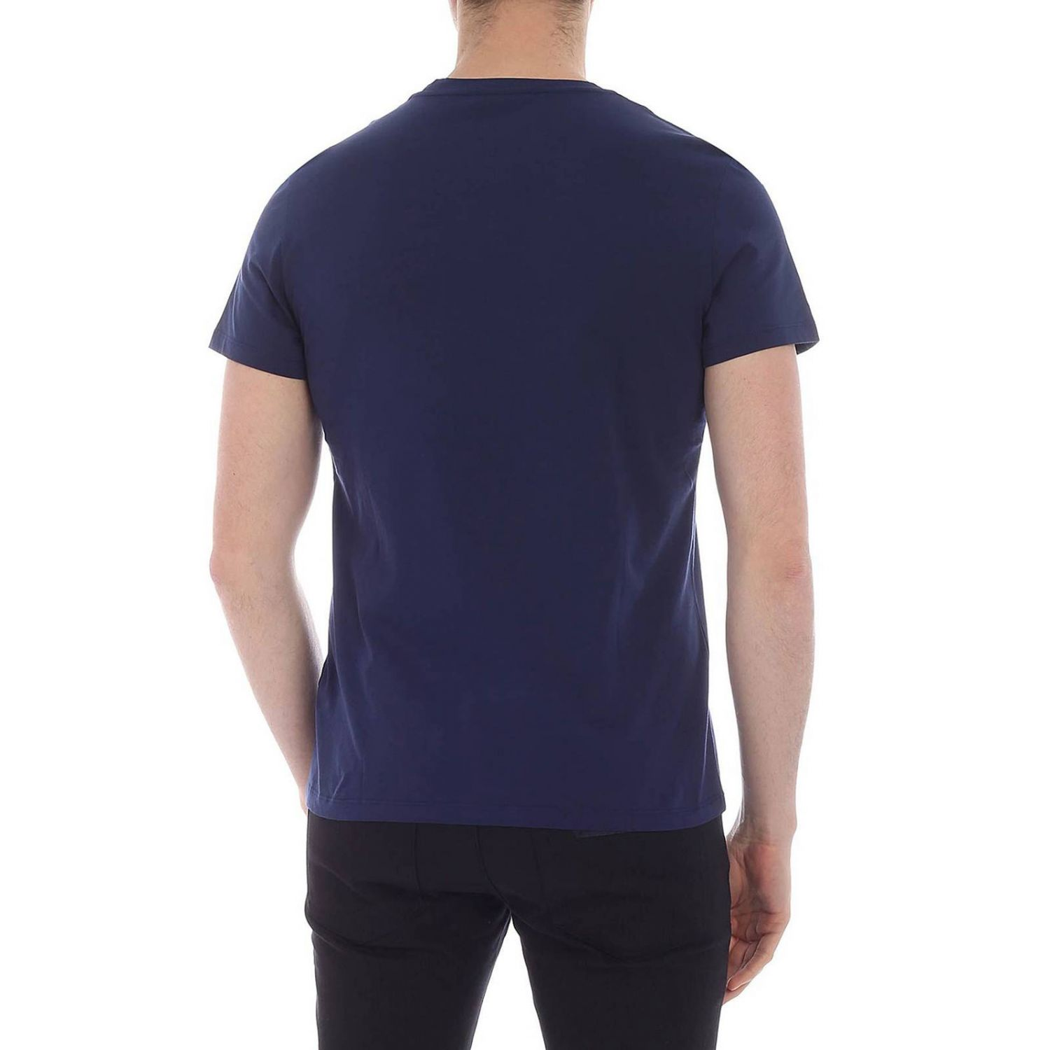 T-shirt Balmain: T-shirt men Balmain blue 3