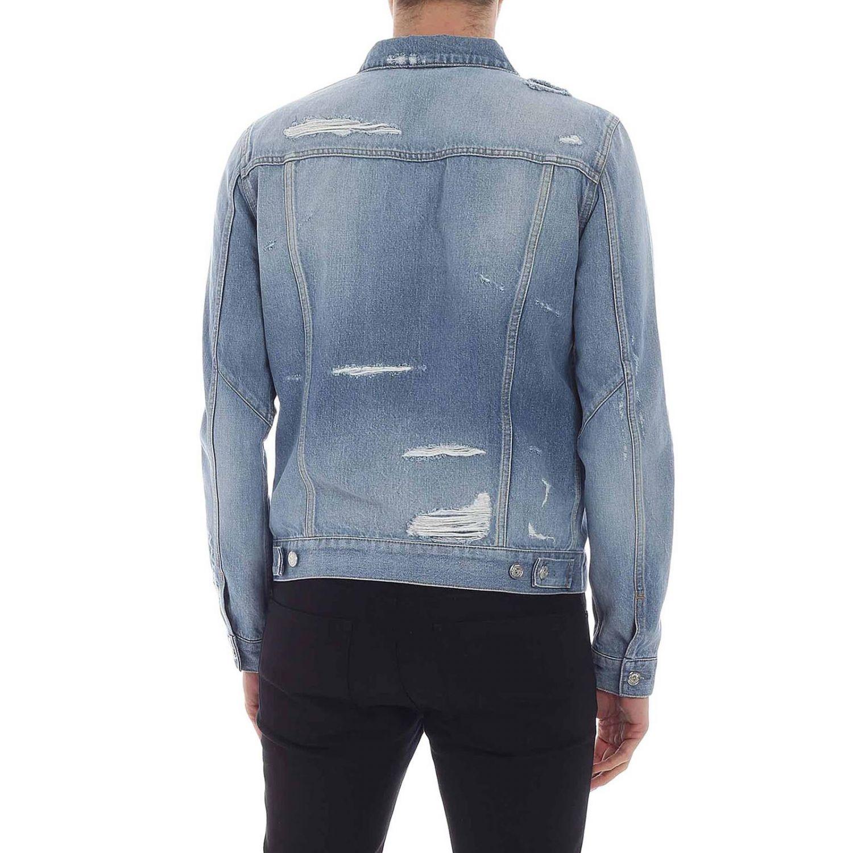 Куртка Balmain: Куртка Мужское Balmain голубой 3