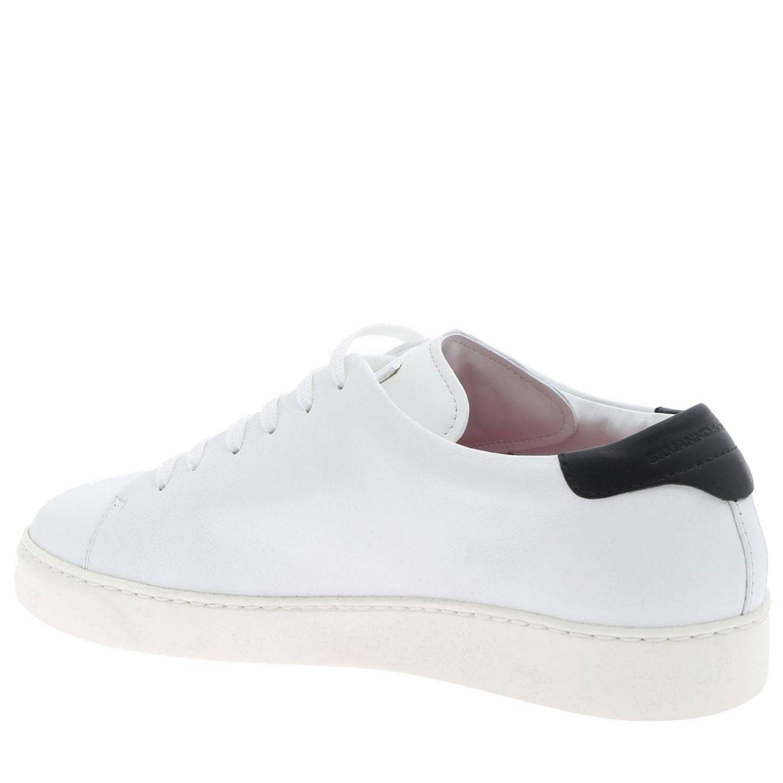 Sneakers Ermanno Scervino stringata con maxi scritta laterale bianco 4