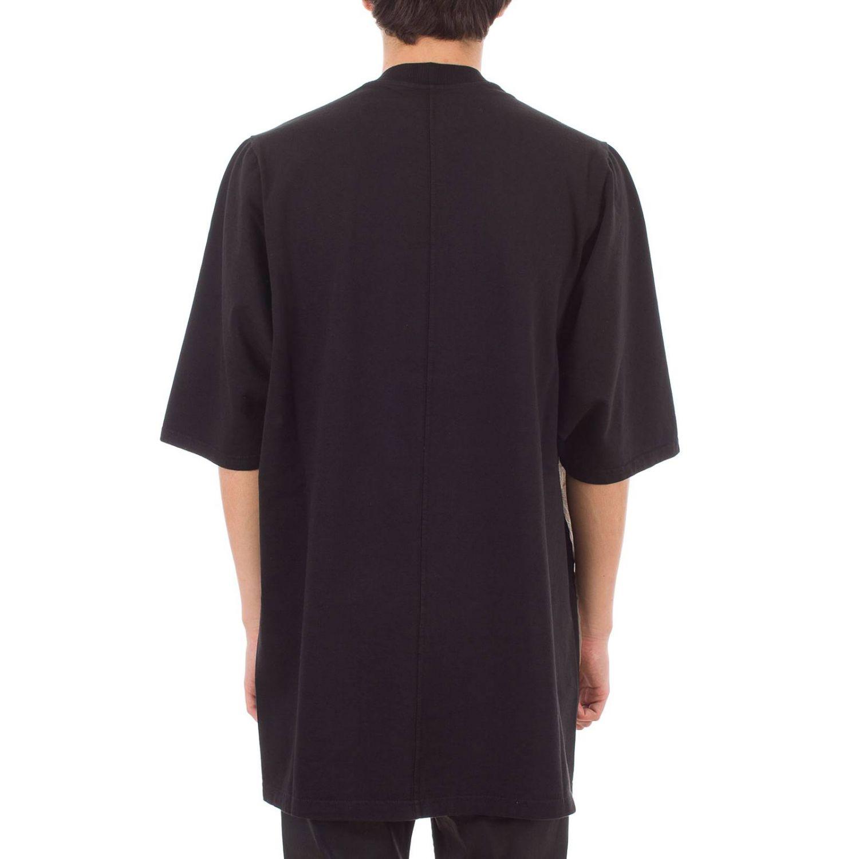 T-shirt Drkshdw a maniche corte over con maxi stampe nero 3
