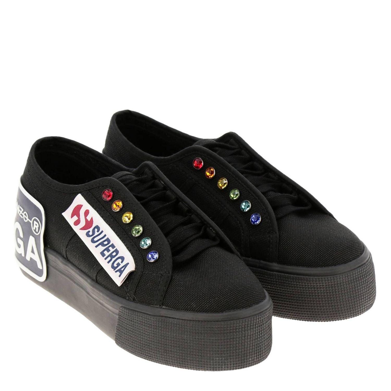 Sneakers damen Marco De Vincenzo schwarz 2