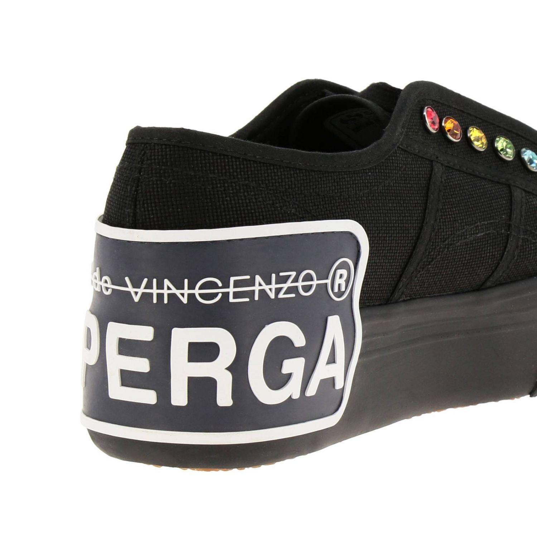 Sneakers damen Marco De Vincenzo schwarz 4