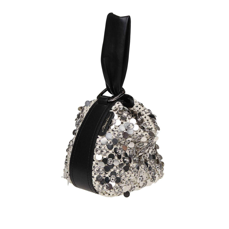 Tote bags women 3.1 Phillip Lim silver 3