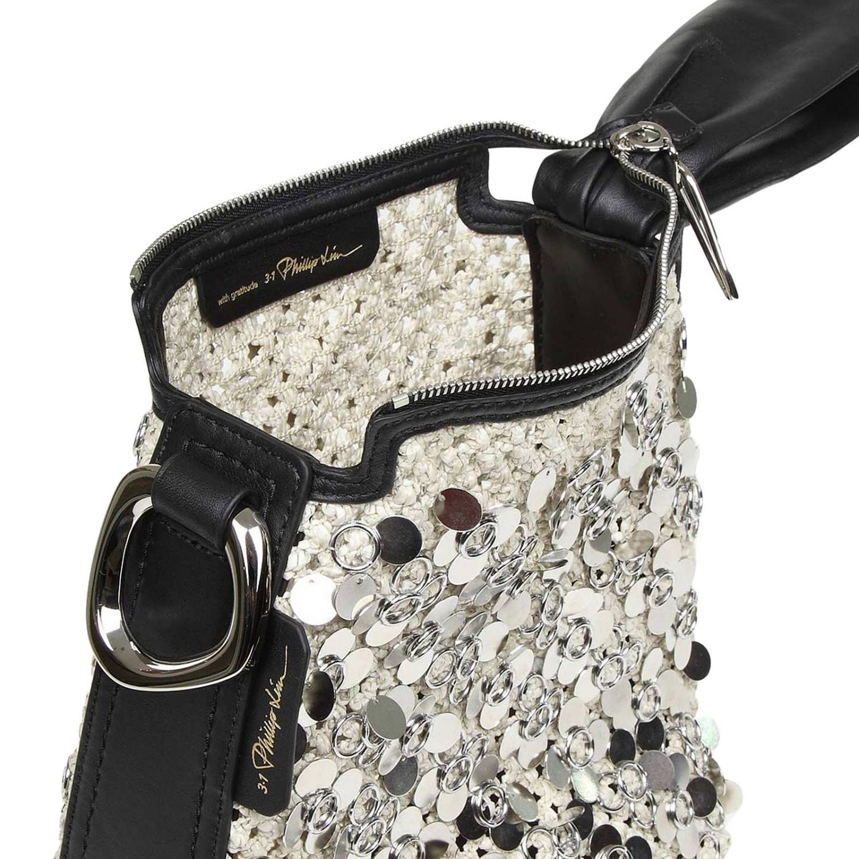 Tote bags women 3.1 Phillip Lim silver 4