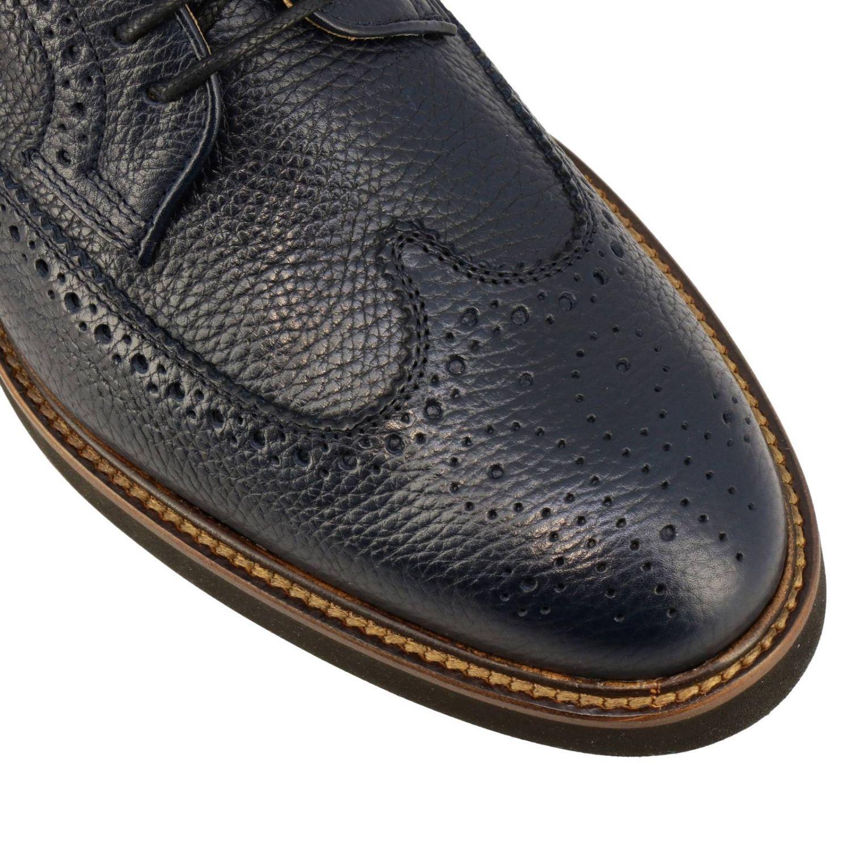 Zapatos de cordones hombre Tod's azul oscuro 3