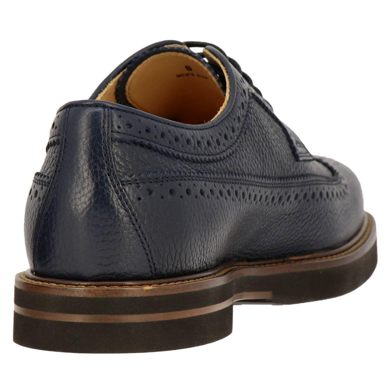 Zapatos de cordones hombre Tod's azul oscuro 4