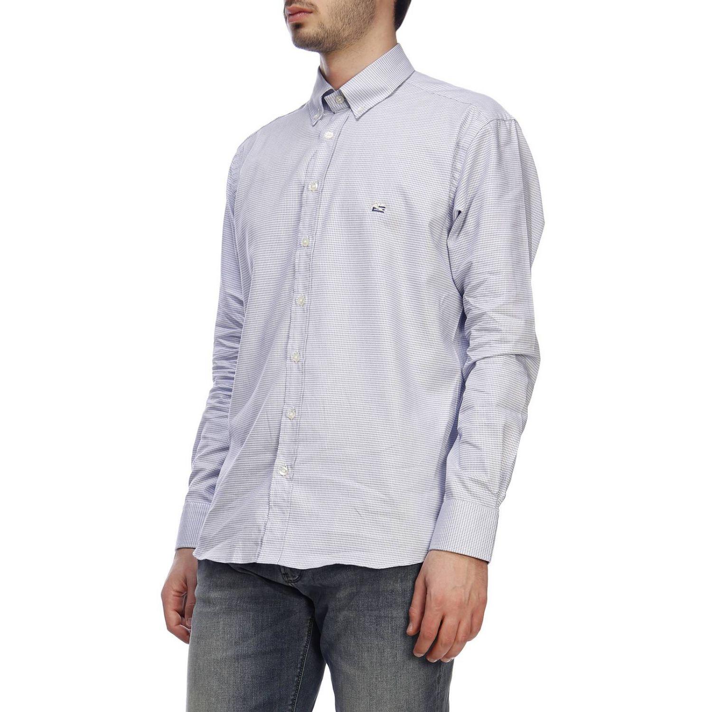 Shirt men Etro gnawed blue 2