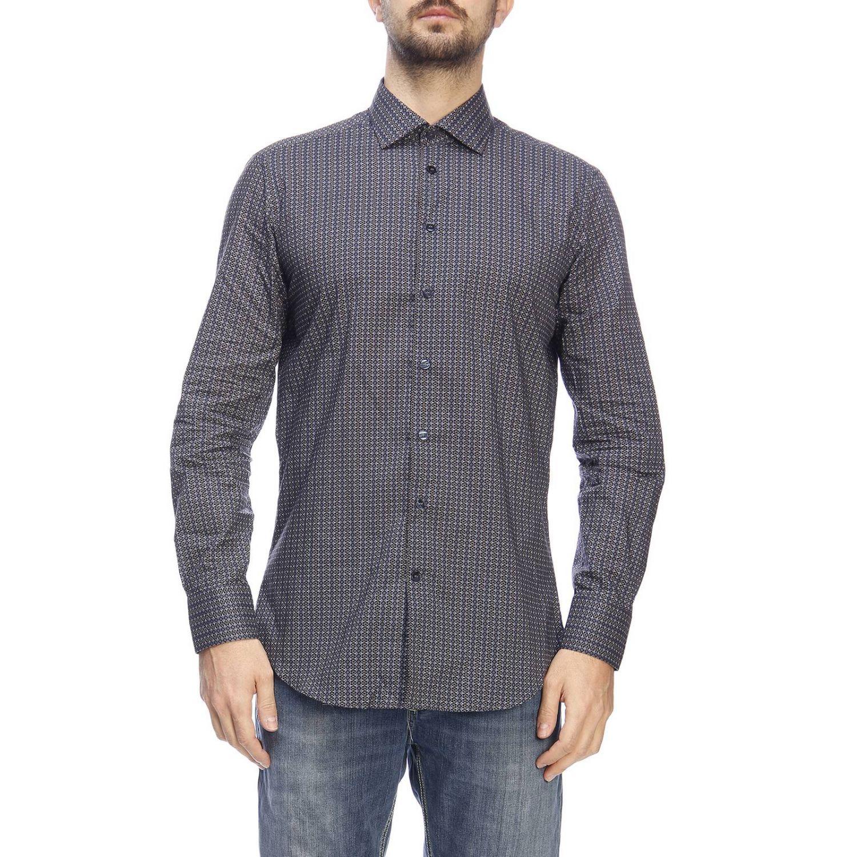 Camisa hombre Etro azul oscuro 1