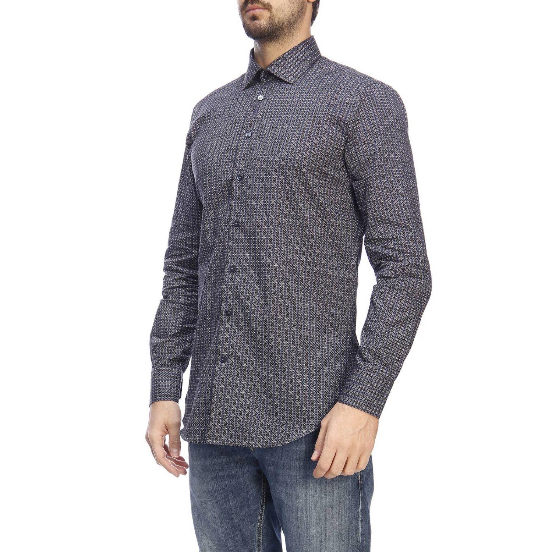 Camisa hombre Etro azul oscuro 2