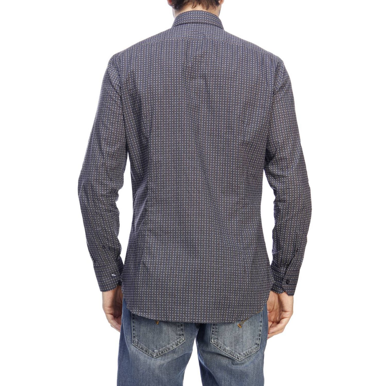 Camisa hombre Etro azul oscuro 3