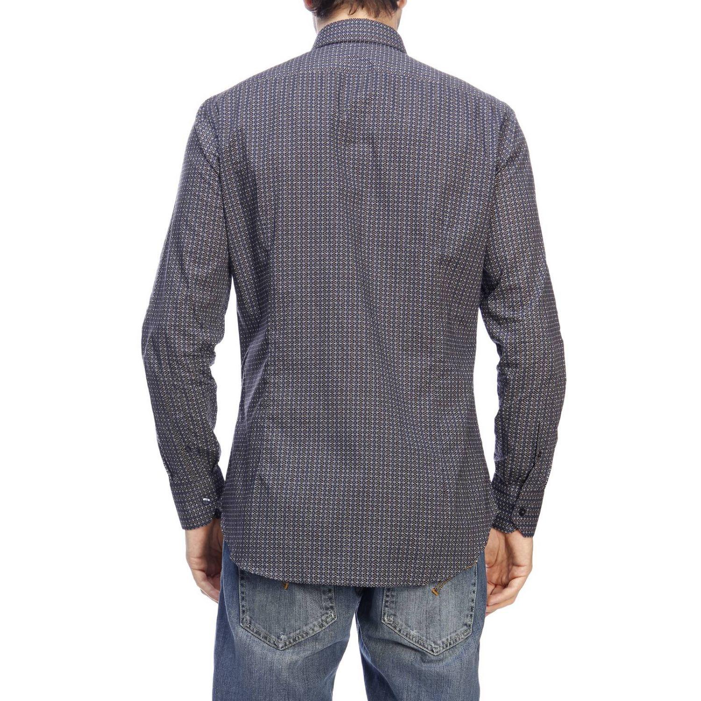 Camicia Etro a micro fantasia blue 3