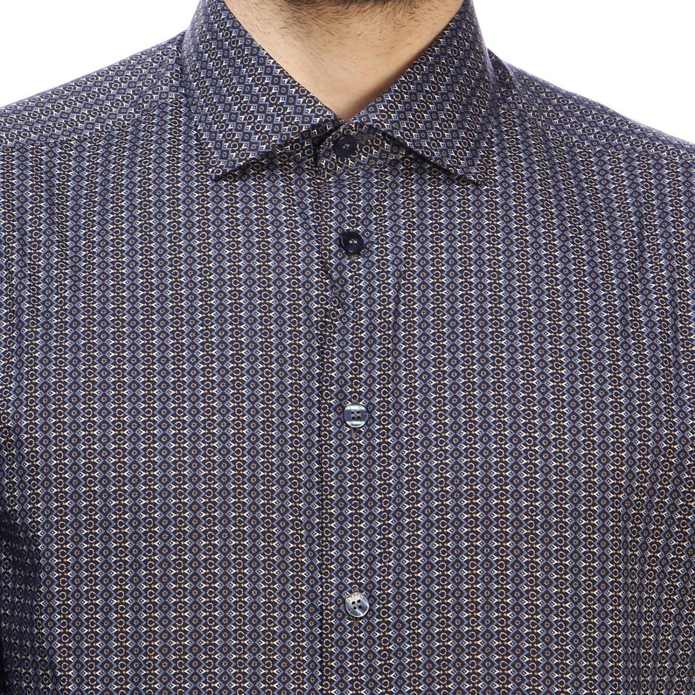 Camisa hombre Etro azul oscuro 4