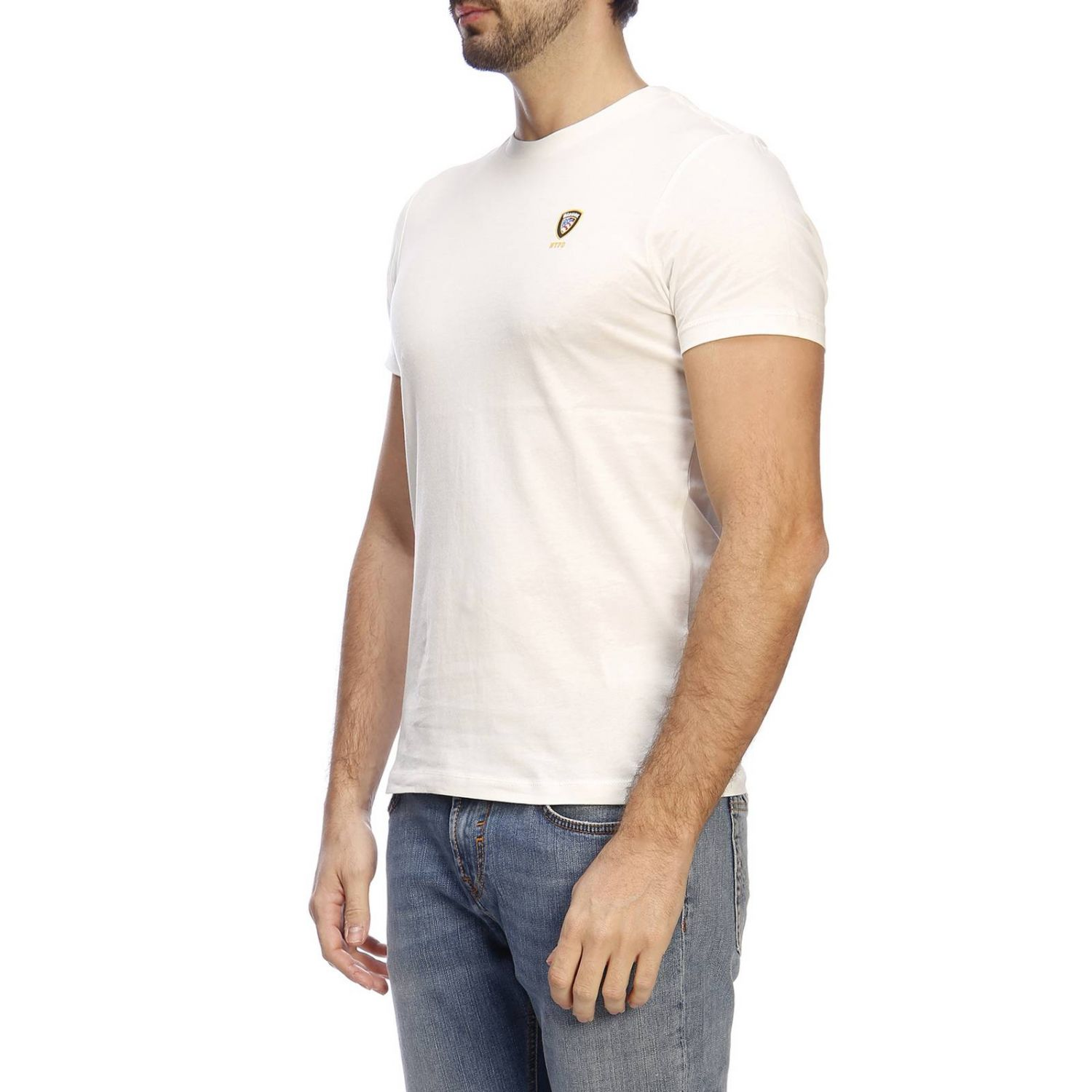 T-shirt men Blauer ivory 2
