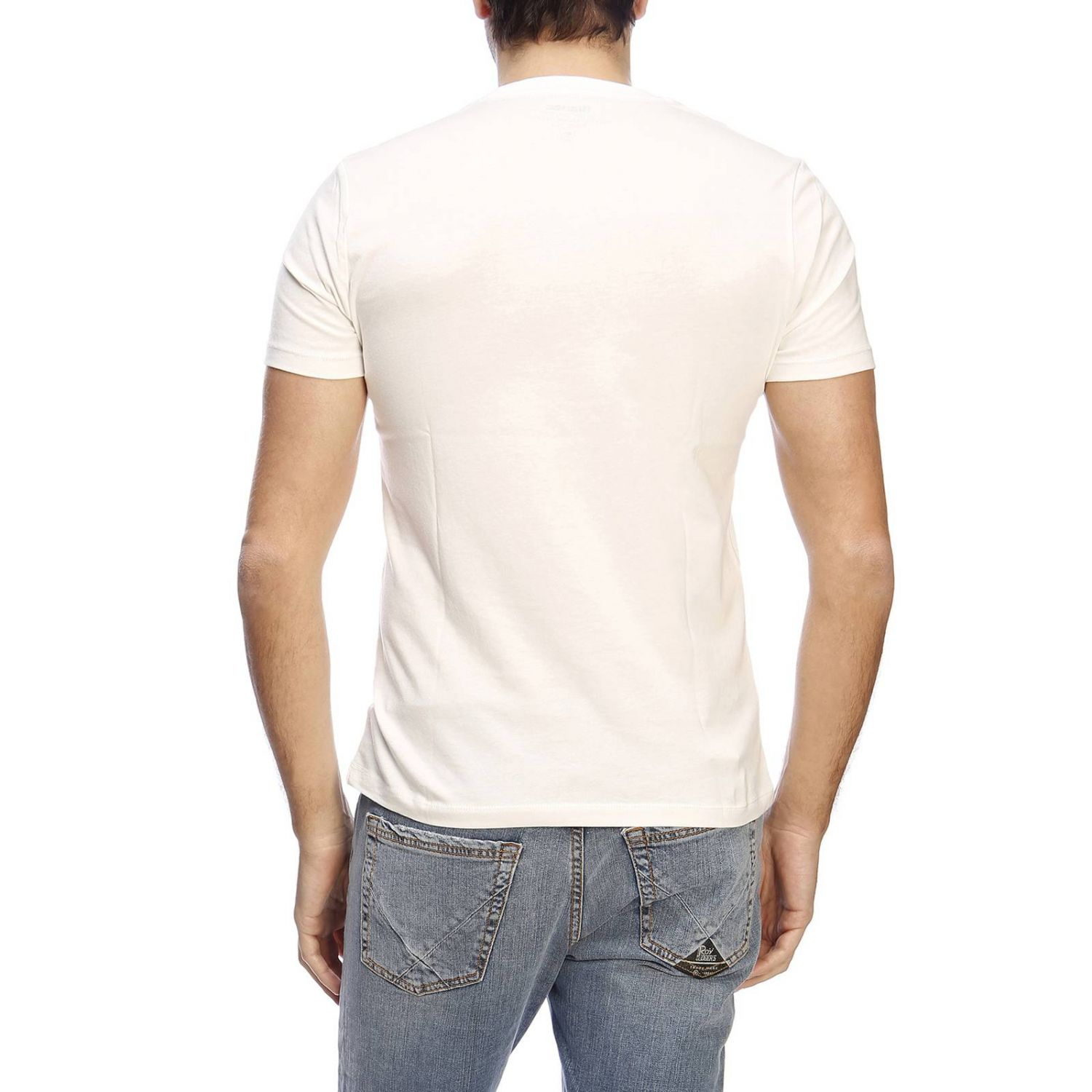 T-shirt men Blauer ivory 3