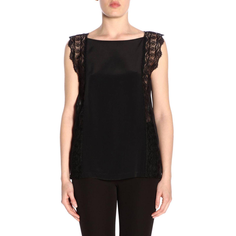 Блузка Alberta Ferretti: Блузка Женское Alberta Ferretti черный 1