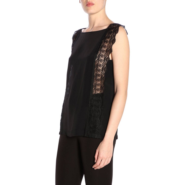 Блузка Alberta Ferretti: Блузка Женское Alberta Ferretti черный 2
