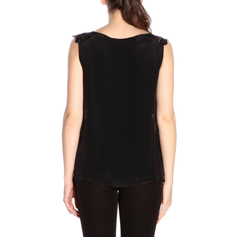 Блузка Alberta Ferretti: Блузка Женское Alberta Ferretti черный 3