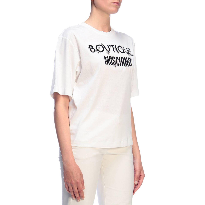 T-Shirt Boutique Moschino: T-shirt women Boutique Moschino white 2