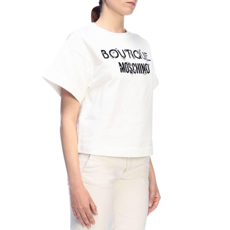 Sweatshirt Boutique Moschino: Sweatshirt women Boutique Moschino white 2