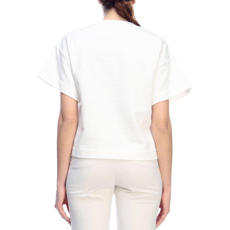 Sweatshirt Boutique Moschino: Sweatshirt women Boutique Moschino white 3