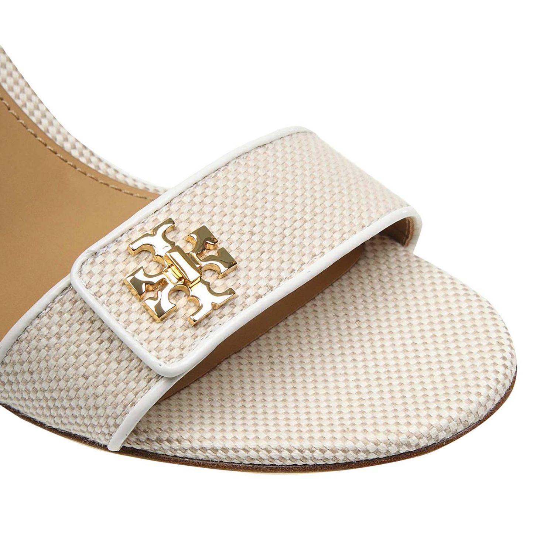 Heeled sandals women Tory Burch ivory 3
