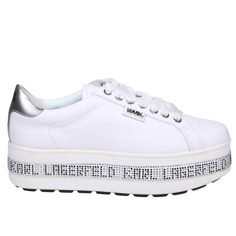 Sneakers Women Karl Lagerfeld Sneakers Karl Lagerfeld Women White Sneakers Karl Lagerfeld Kl61450 Giglio En