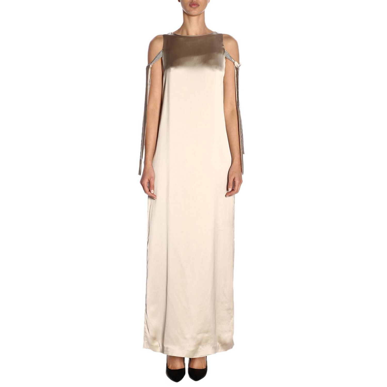 Dress Fabiana Filippi: Dress women Fabiana Filippi grey 1