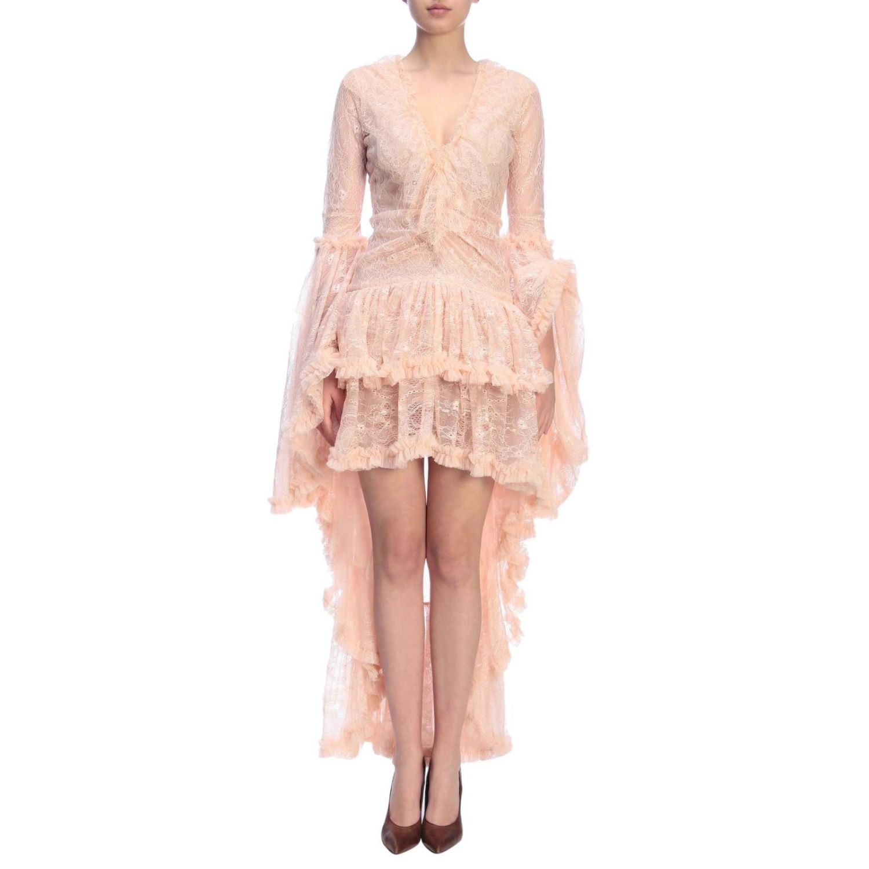 Kleid damen Amen pink 1