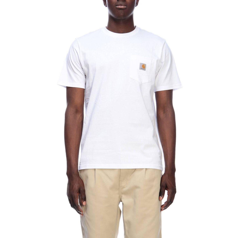 T-shirt men Carhartt white 1