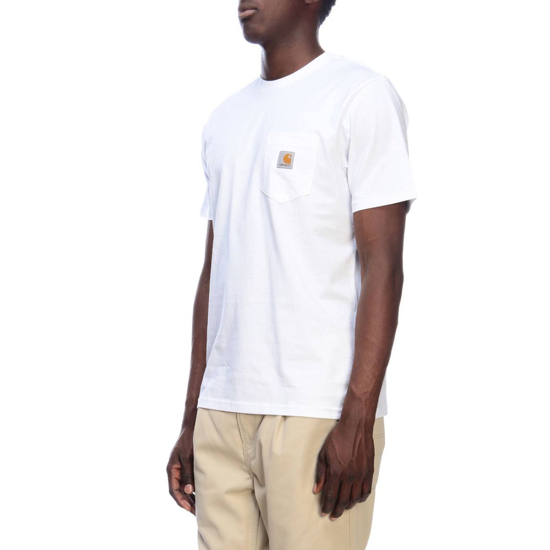 T-shirt men Carhartt white 2