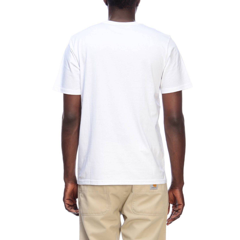 T-shirt men Carhartt white 3