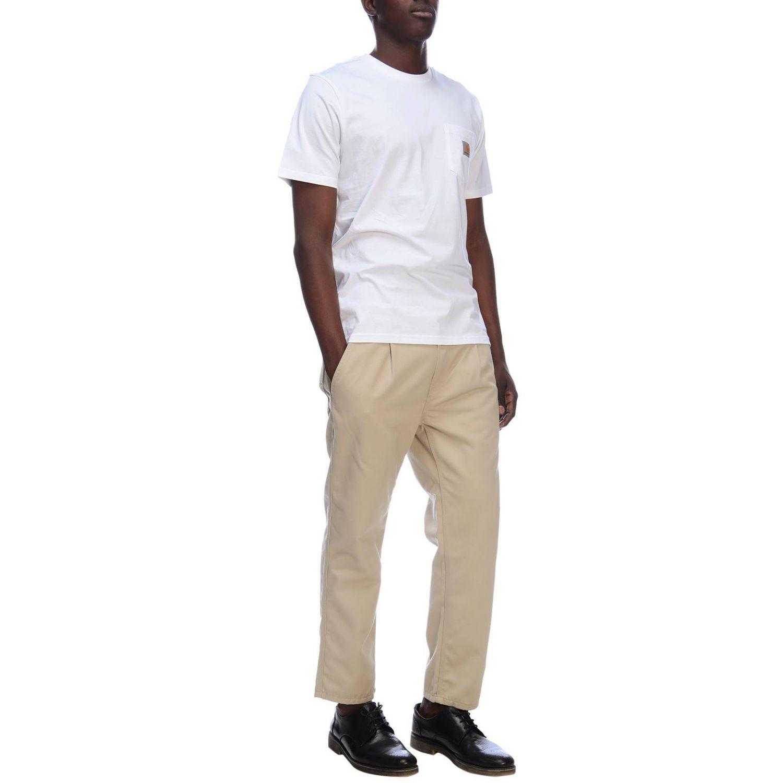 T-shirt men Carhartt white 4