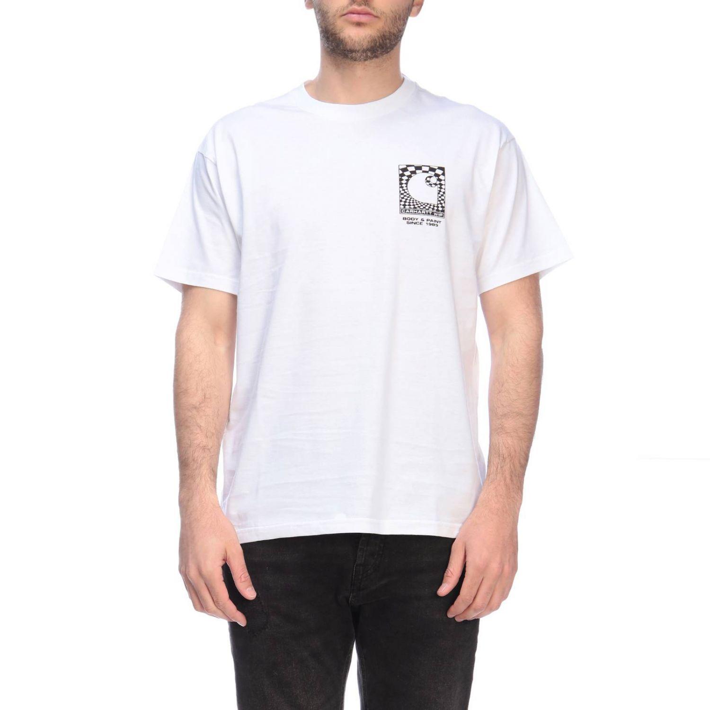 T-shirt Carhartt a maniche corte con maxi stampe bianco 1