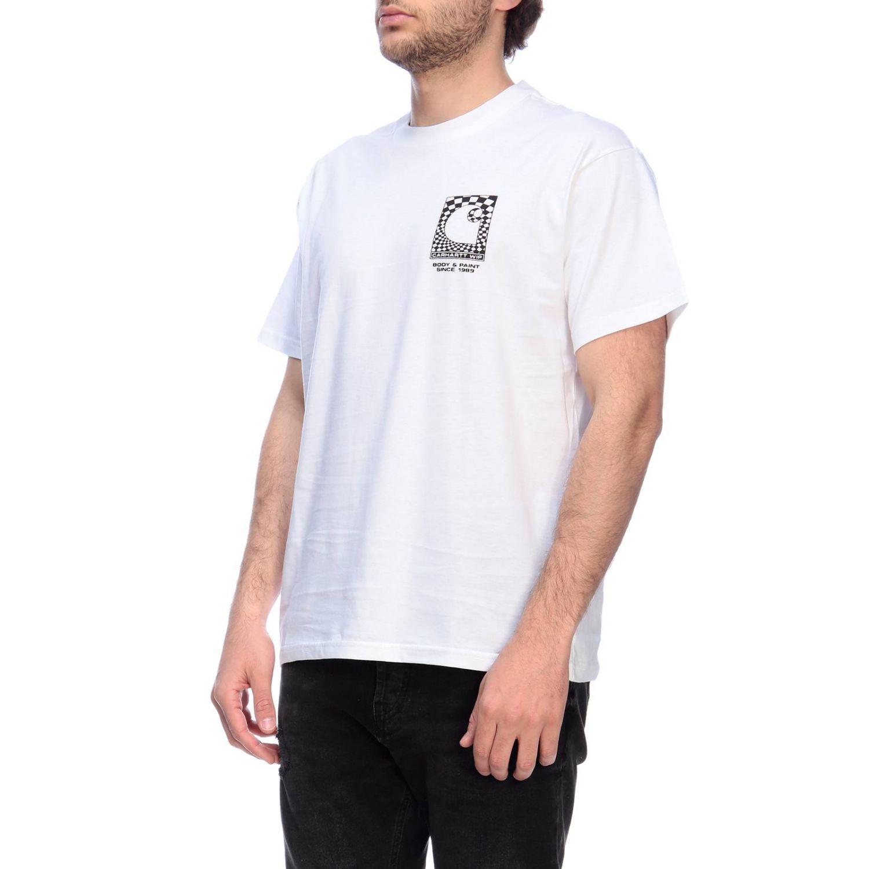 Camiseta hombre Carhartt blanco 2